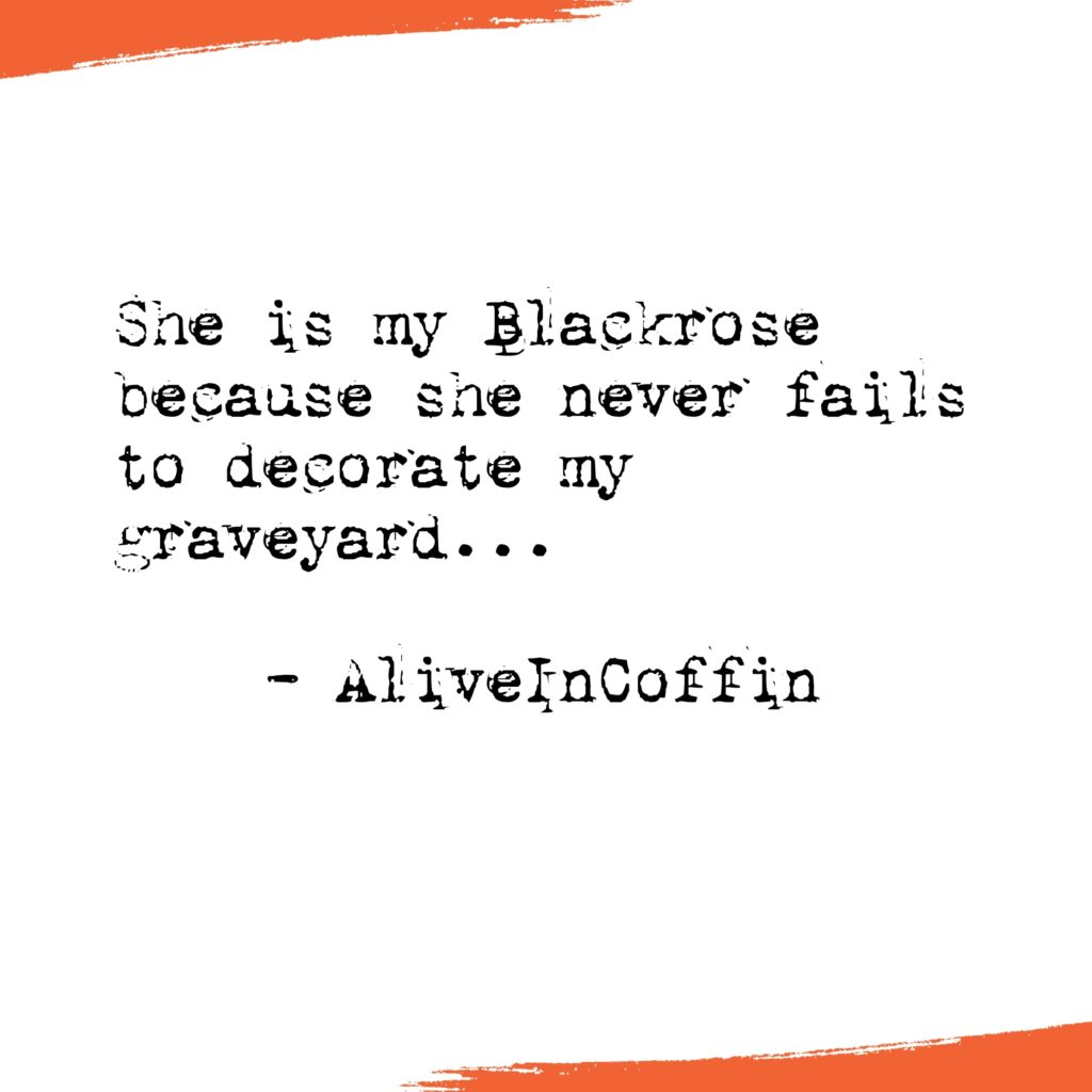 Gothic Short Poem about her perfection and graveyard.