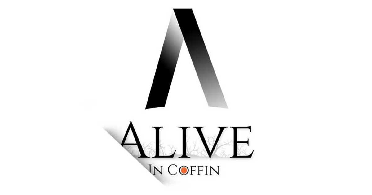 Facebook Feature Image of Alive In Coffin Poetry Blog
