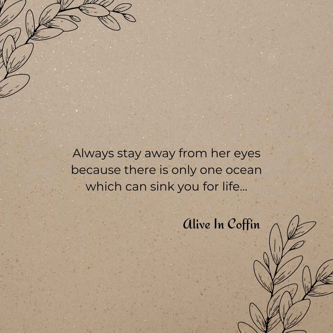Her Ocean Eyes - Short Poems About Her Beauty